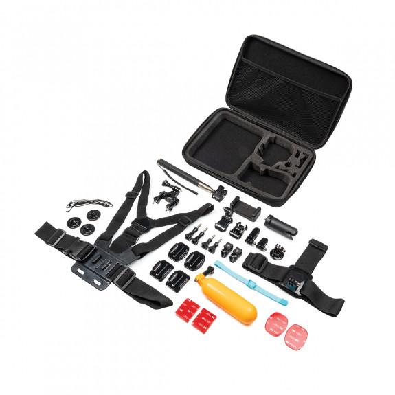 ZERO-X Action Camera 30 Piece Accessory Pack