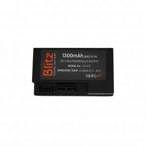 1300mAh battery for Blitz drone