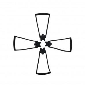 Zero-X Edge Spare Part Rotor Guards